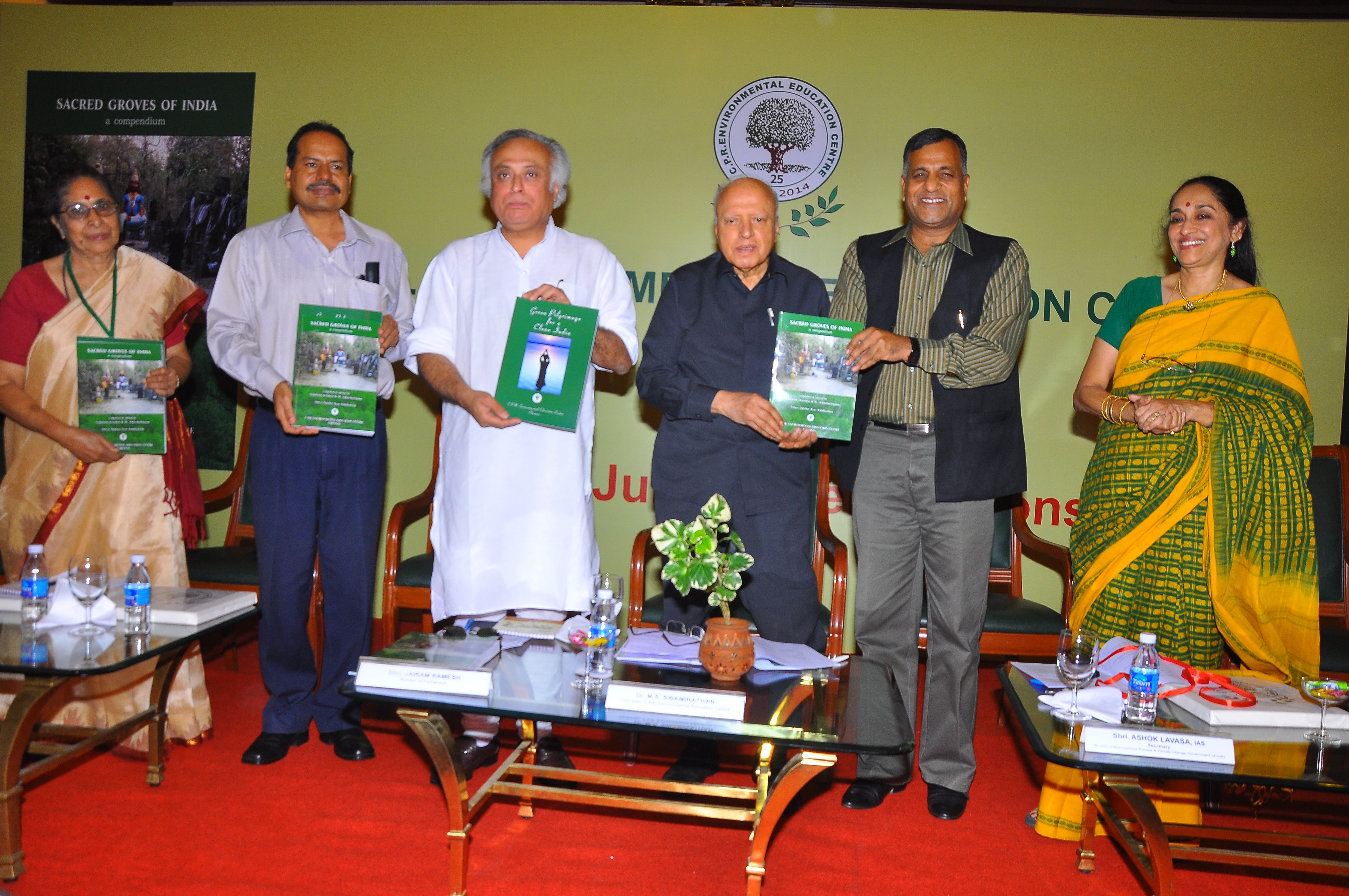 Sacred Groves of India- book release