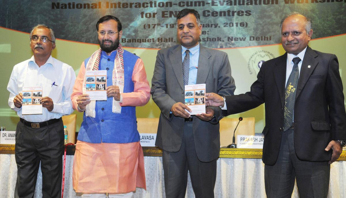 Release of the book 'Ecological Traditions of India - Gujarat  by CPREEC ENVIS Centre