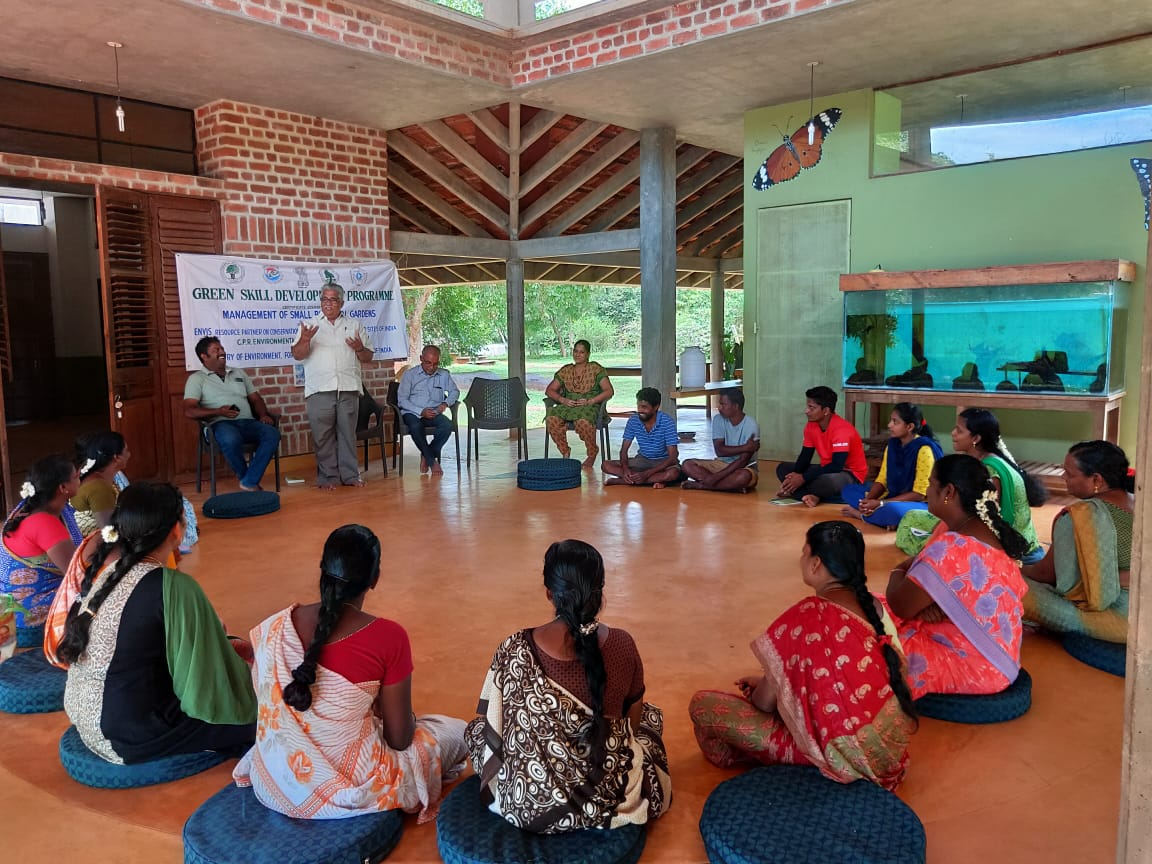 Inauguration of Certificate course on Management of Biodiversity Park at Botanical Garden, Auroville