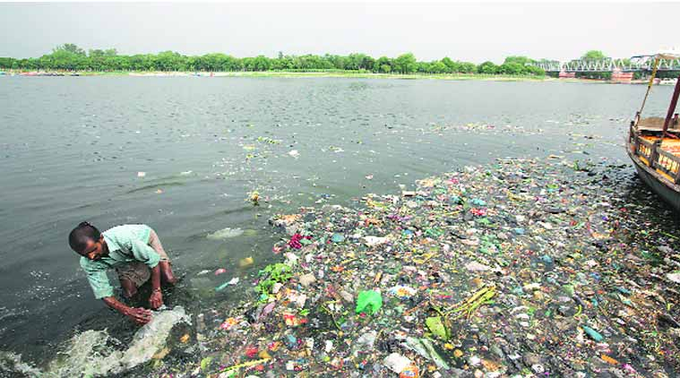 indian river pollution in hindi essays The number of rivers defined as polluted in india has more than doubled in the last five years, from 121 to 275, an assessment by the central pollution control board (cpcb) says.