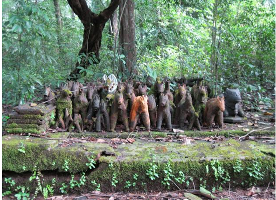 sacred groves in india In india, sacred groves have been considered the forested abodes of one or multiple deities and are often managed by communal governance systems.